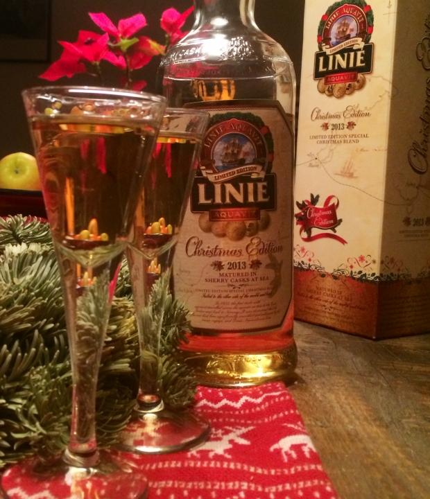 Linie Akquavit Christmas Edition 2013