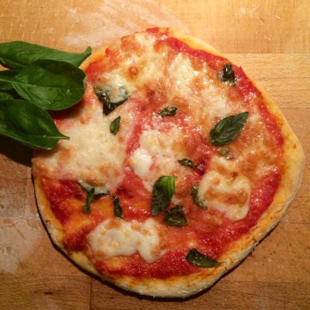 50 Klassiker Pizza Margherita nachher