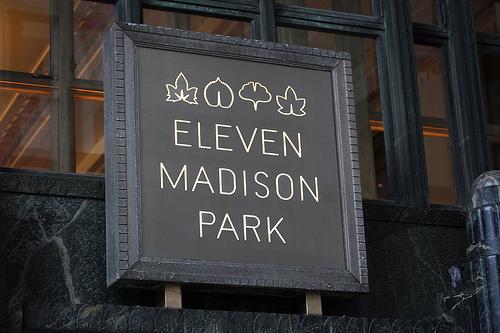 eleven madison park schild