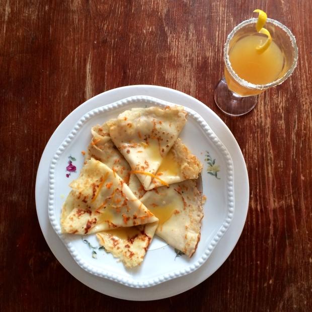Crepes Suzettes