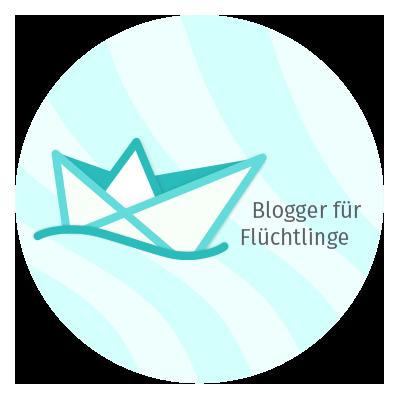 blogger fuer fluechtlinge logo