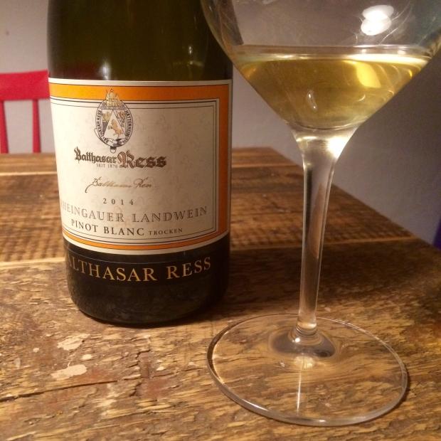 Balthasar Ress Pinot Blanc 2014